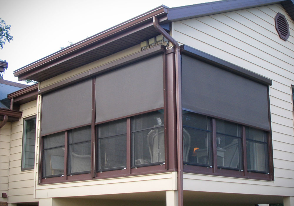 Patio door curtains - Retractables Window And Door Patio Canopies Porch Curtains Aluminum